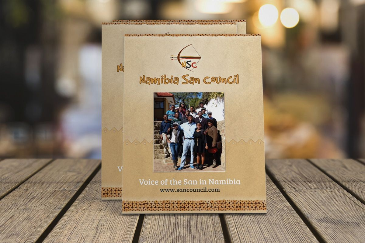 New Namibia San Council brochure published